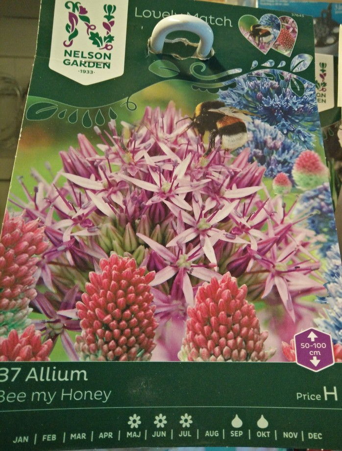 allium-mix, Bee my Honey. Gillas av humlor och bin