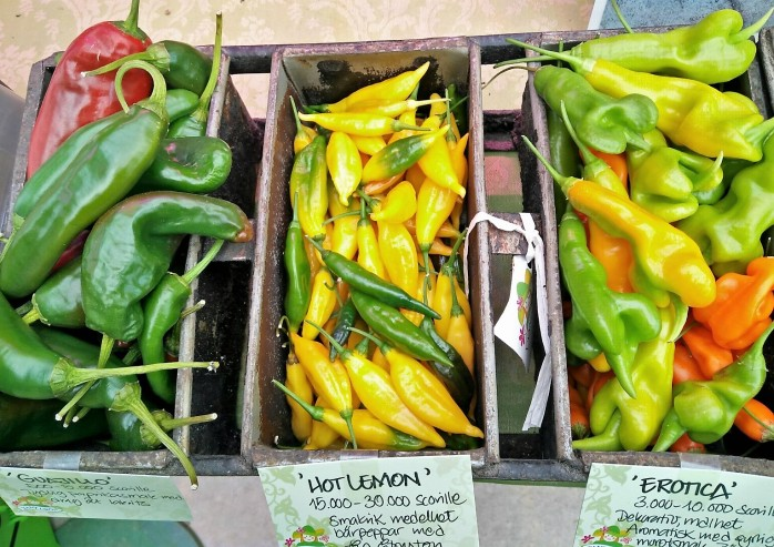 chili lösvikt frukter