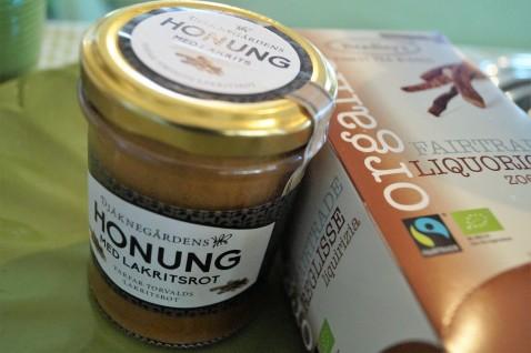Honung och te med lakrits
