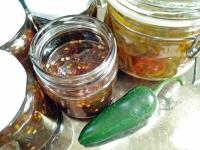 chili-marmelad och picklat