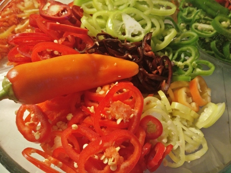 chili-ringar, mix olika sorter,färger